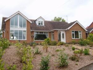 extension to bungalow - Lowdham